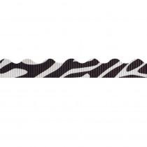 PAC37420 - Bordette 2 1/4 X 25Ft Zebra Safari Prints in Bordette
