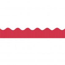 PAC37810 - Metallic Bordette 2 1/4 X 25 Red in Bordette
