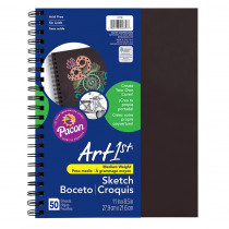 PAC4779 - Sketch Diary Chip Cover 11X8.5 Blk in Sketch Pads