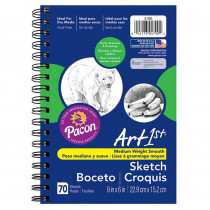 PAC4790 - Art1st Sketch Diary 9 X 6 in Sketch Pads