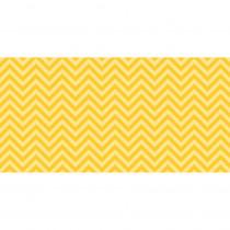 PAC55805 - Fadeless 48X50 Yellow Chevron Design Roll in Bulletin Board & Kraft Rolls