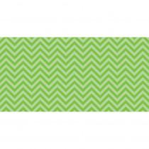 PAC55815 - Fadeless 48X50 Lime Chevron Design Roll in Bulletin Board & Kraft Rolls
