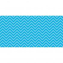 PAC55825 - Fadeless 48X50 Aqua Chevron Design Roll in Bulletin Board & Kraft Rolls