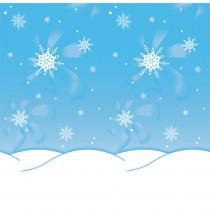 PAC56385 - Fadeless 48X50 Roll Winter Time in Bulletin Board & Kraft Rolls