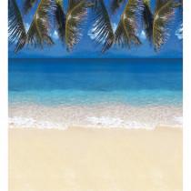 PAC56715 - Fadeless 48X50 Roll Tropical Beach Boxed in Bulletin Board & Kraft Rolls