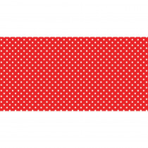 PAC57405 - Fadeless 48X50ft Classic Dots Red Design Roll in Bulletin Board & Kraft Rolls