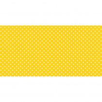PAC57415 - Fadeless 48X50ft Classic Dots Ylw Design Roll in Bulletin Board & Kraft Rolls