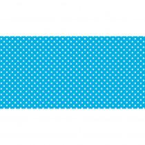 PAC57425 - Fadeless 48X50ft Classic Dots Aqua Design Roll in Bulletin Board & Kraft Rolls