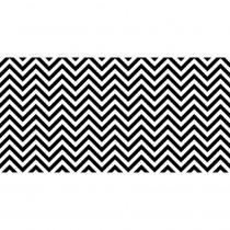 PAC57715 - Fadeless 48X50ft B&W Chevron Design Roll in Bulletin Board & Kraft Rolls