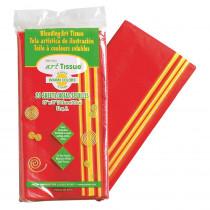 PAC58546 - Art Tissue 20X30 Warm Clrs 20 Shts in Tissue Paper