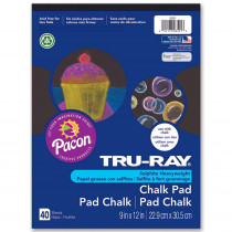 PAC6591 - Tru Ray Chalk Paper Pad in Sketch Pads