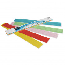 PAC73400 - Rainbow Kraft Sentence Strips in Sentence Strips