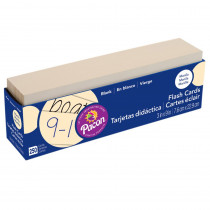 PAC74100 - Flash Cards Blank 3X9 in Flash Cards