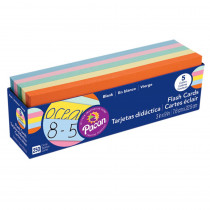 PAC74150 - Flash Cards Asst Clr 3X9 in Flash Cards