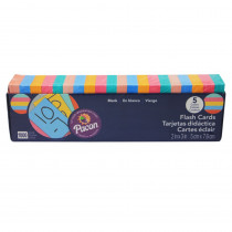 PAC74170 - Flash Cards Assorted Clr 2X3 in Flash Cards
