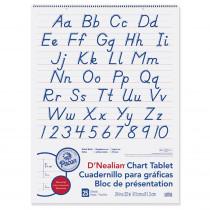PAC74730 - D Nealian Chart Tablet Manuscript in Chart Tablets