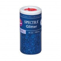 PAC91650 - Glitter 4Oz Blue in Glitter