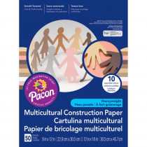 PAC9512 - Multicultural Construct Ppr 12X18 in Construction Paper