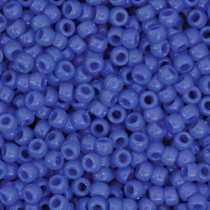 Pony Beads, Blue, 6 mm x 9 mm, 1000 Pieces - PACAC355210 | Dixon Ticonderoga Co - Pacon | Beads