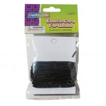 PACAC3728 - Black Elastic Cord in Cord