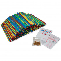 PACAC9231 - 6Mm Colored Artstraws 900 Count in Art Straws