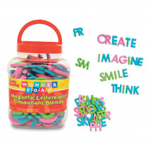 PACAC9305 - Wonderfoam Magnetic Letters W/ Consonant Blends in Foam