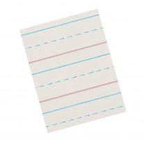 PACZP2613 - Zaner-Bloser Broken Midline Papers 1/2 X 1/4 Short in Handwriting Paper