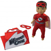 PAT5942 - Wonder Crew Buddies Superhero Erik in Dolls