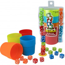 PAT6890 - Stack Attack The Dice It Up Dont Let It Fall Game in General