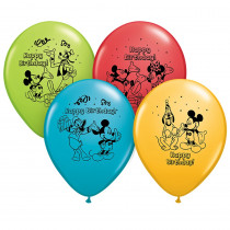 PBN72419 - 12In Mickey Happy Bday Balloons 6Pk in Accessories
