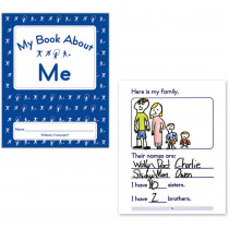 PC-1257 - My Book About Me Set Of 20 in Classroom Activities