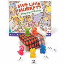 PC-1523 - Five Little Monkeys Jumping On The Bed 3D Storybook in General