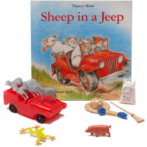PC-1572 - Sheep In A Jeep 3D Storybook in Classroom Favorites