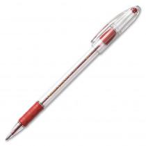 PENBK91B - Pentel Rsvp Red Med Point Ballpoint Pen in Pens