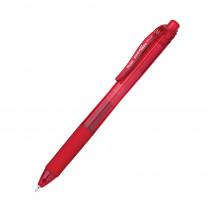 PENBLN105B - Energel X Red 0.5Mm Retractable Liquid Gel Pen in Pens