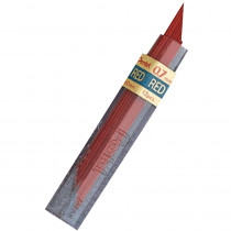 PENPPR7 - Pentel Hb Super Hi Polymer 0.7Mm Red Leads in Pencils & Accessories