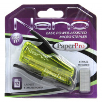 PPR1811 - Paperpro Nano Miniature Stapler Gray in Staplers & Accessories
