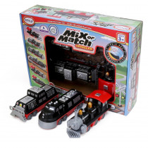 Magnetic Mix or Match Vehicles, Train - PPY60320 | Popular Playthings | Vehicles