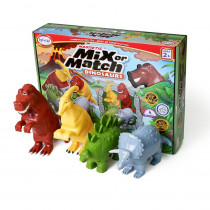 Magnetic Mix or Match Dinosaurs - PPY62010 | Popular Playthings | Animals