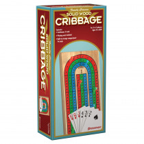 PRE181006 - Folding Cribbage Wcards In Box Sleeve in Games