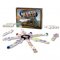 Mexican Train Dominos - PRE3928 | Pressman Toys | Dominoes