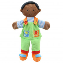 Story Telling Puppets, Boy (Dark Skin Tone) - PUC001903 | The Puppet Company | Puppets & Puppet Theaters