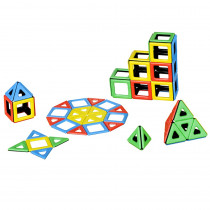 PY-501010 - Magnetic Polydron Class Set in Blocks & Construction Play