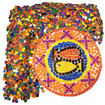 R-15630 - Mosaic Squares in Craft Paper