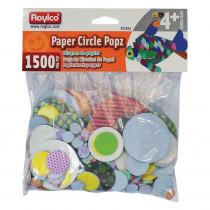 R-15653 - Roylco Paper Circle Popz in Art