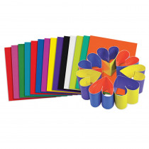R-22052 - Roylco Double Color Card Sheets in Art
