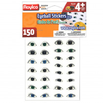 R-3338 - Eyeball Stickers Large Eyes in Stickers