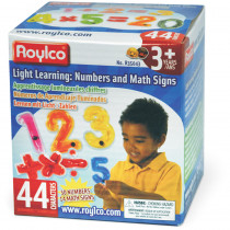 R-35043 - Numbers & Math Signs in Magnetic Letters