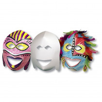 R-52010 - Roylco African Masks 20Pk in Art & Craft Kits