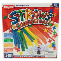 R-6085 - Straws & Connectors 230 Pieces in Art & Craft Kits